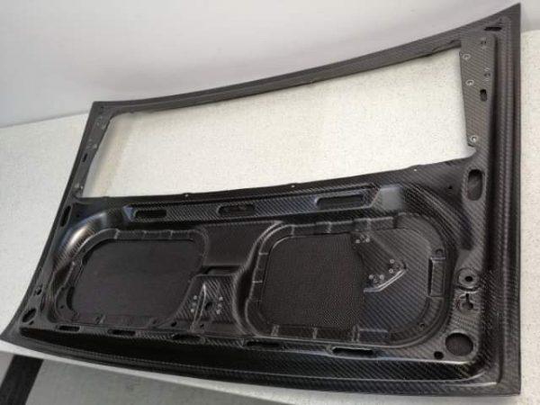 Porsche 911 964 carbon engine cover back