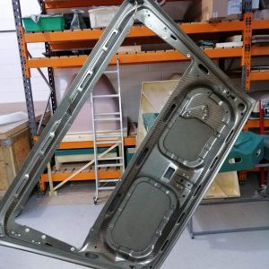 Porsche 911 964 weight carbon engine cover back